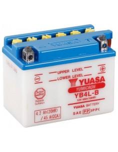 Batería Moto Yuasa YB4L-B 12V- 4Ah