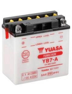 Batería Moto Yuasa YB7-A 12V- 8Ah