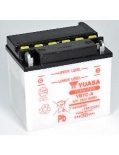 Batería Moto Yuasa YB7C-A 12V- 7Ah