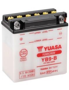 Batería Moto Yuasa YB9-B 12V- 9Ah