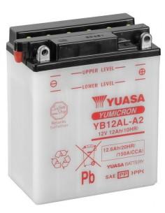 Batería Moto Yuasa YB12AL-A2 12V- 12Ah