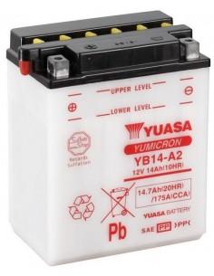 Batería Moto Yuasa YB14-A2 12V- 14Ah