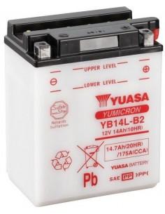 Batería Moto Yuasa YB14L-B2- 12V - 14Ah