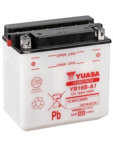 Batería Moto Yuasa YB16B-A1 - 16Ah