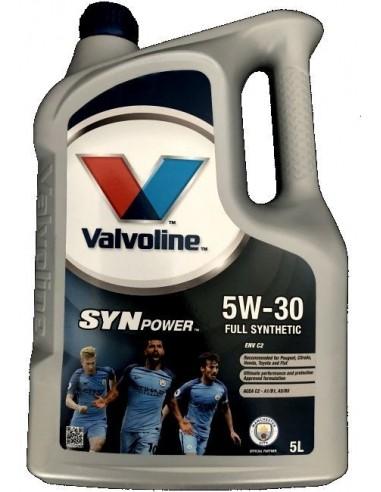 Aceite Valvoline SynPower Xtreme ENV C2 5W30
