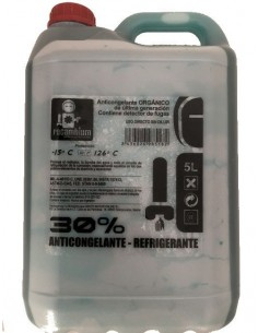 Anticongelante Orgánico Recambium 30% Azul