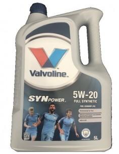 Aceite Valvoline Synpower Fuel Economy 5W20