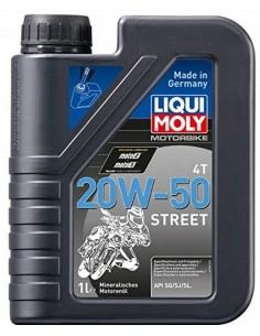 Aceite Liqui Moly Motorbike 4T Street 20W50