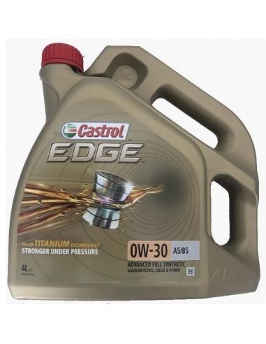 Aceite Castrol Edge Titanium FST 0w30 A5/B5