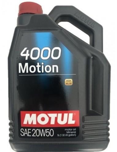 Aceite Motul 4000 Motion 20W50