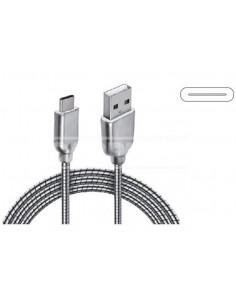 Cable Carga y Datos Metálico Tipo C1M