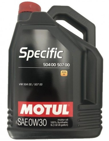 Aceite Motul Specific 50400/50700 0W30 C3