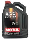 Aceite Motul 8100 Eco-lite 0W20