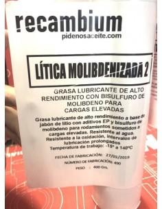 Cartucho Grasa Recambium Lítica Molibdenizada 2