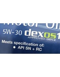 Aceite Opel Dexos1 Gen2 5W30