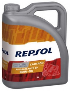 Aceite Repsol Cartago Autoblocante EP 80W90