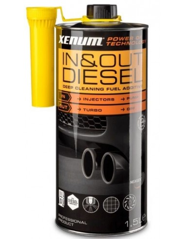 Aditivo Diesel Multifuncional Xenum IN&OUT Cleaner