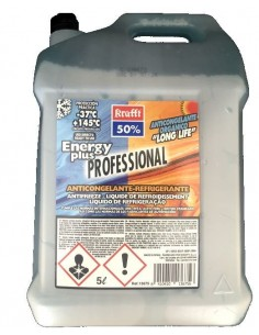 Anticongelante Refrigerante Proffesional Energy Plus 50 % Azul, Krafft