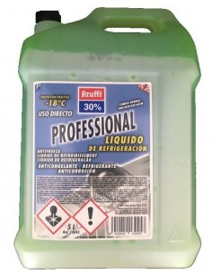 Anticongelante Refrigerante 30% Verde, Krafft