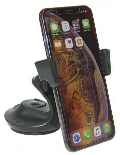 Pinza Soporte Teléfono Automática Colocada en Salpicadero o Parabrisas