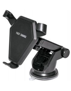 Soporte Teléfono con Carga Wire-less para Salpicadero o Parabrisas