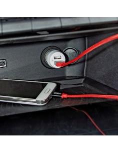 Cargador-Mechero Doble Conexión USB
