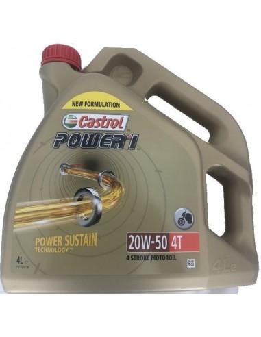 Aceite Castrol Power 1 4T 20W50
