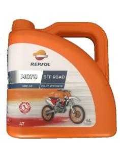 Aceite Repsol Moto Off Road 4T 10W40