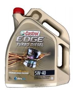 Castrol Edge Titanium FST Turbo Diésel 5W40