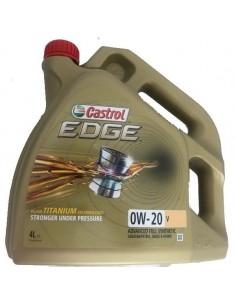 Aceite Castrol Edge Titanium 0W20 V
