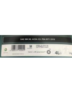 Aceite Castrol Magnatec Stop Start 0W30 C2