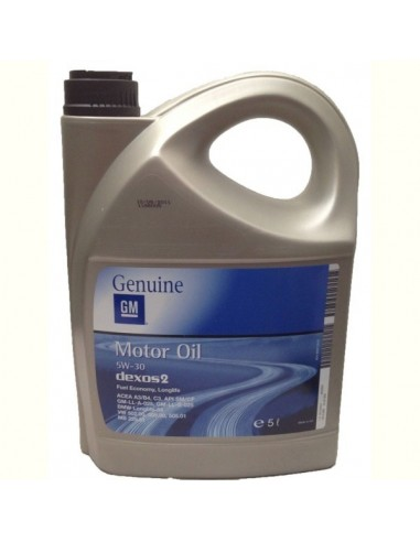 Aceite Opel Dexos2 5W30