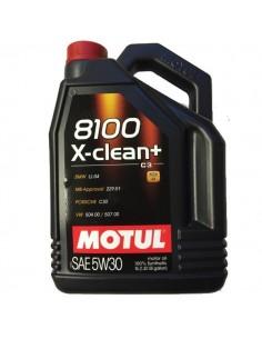 Aceite Motul 8100 X-Clean + C3 5W30