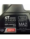 Aceite Motul 7100 4T MA2 10W60