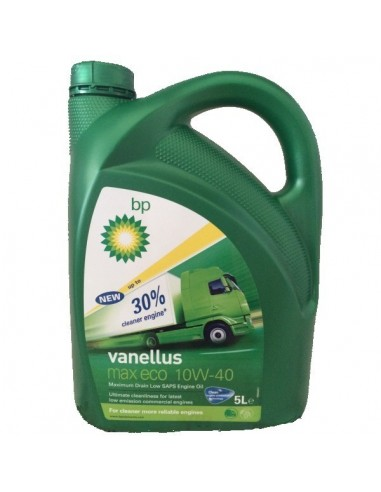 Aceite BP Vanellus Max Eco 10W40