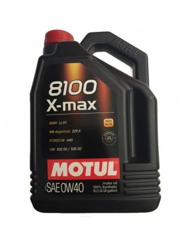 Aceite Motul 8100 X-Max 0w40