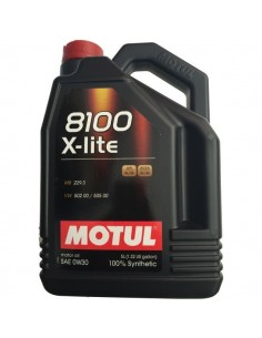 Aceite Motul 8100 X-Lite 0w30