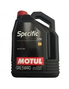 Aceite Motul Specific 2296 5w40