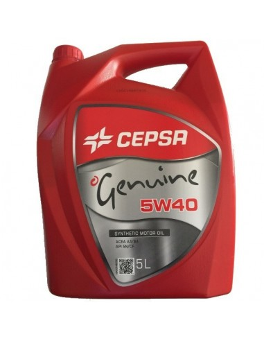 Aceite Cepsa Genuine 5w40