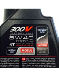 Aceite Motul 300V 4T Factory Off Road 5W40