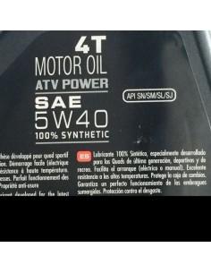 Aceite Motul Atv Power 4T 5W40