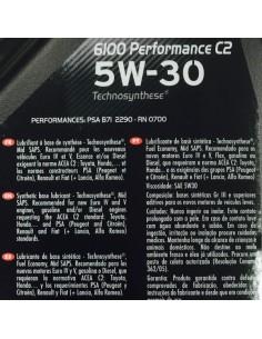 Aceite Motul 6100 Performance C2 5W30