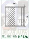 Filtro de Aceite para Moto - hf126