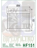 Filtro de Aceite para Moto - HF151
