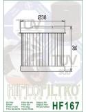 Filtro de Aceite para Moto - HF167