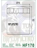 Filtro de Aceite para Moto- HF170C