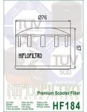 Filtro de Aceite para Moto - HF184
