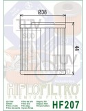 Filtro de Aceite para Moto - HF207