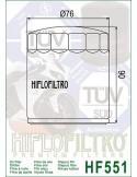 Filtro de Aceite para Moto - HF551