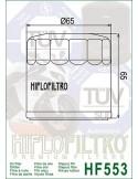Filtro de Aceite para Moto - HF553